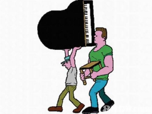 专业搬运钢琴